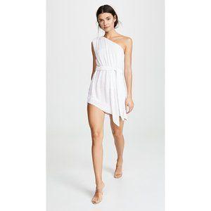 NWT retrofete Ella Dress in Pearl White Medium